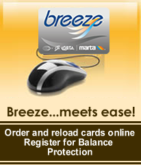 Click here to add value to your breeze card