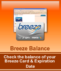 Click here to check the balance of your breeze 